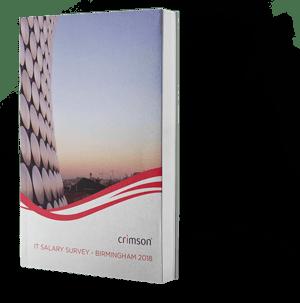 Crimson IT Salary Survey Birmingham West Midlands 2018 Boxshot