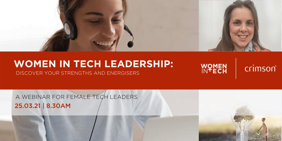 Women in Tech Newsletter banner
